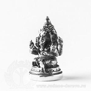 Статуэтка Ганеша из серебра